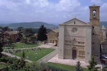 San Francesco al Prato - less than 15 minutes walking distance.