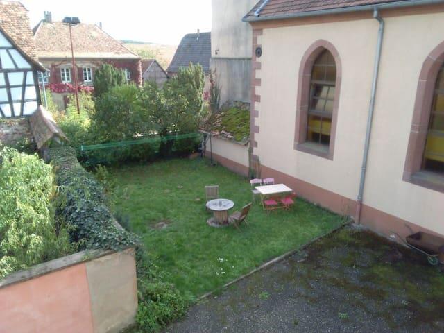 Appartement dans une ancienne école - Obermodern-Zutzendorf - Hus