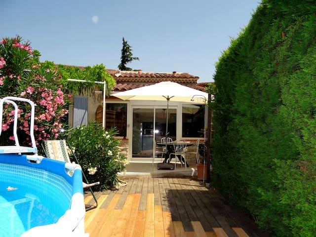 Maisonettewohnung 4 Pers. in Villa - Vedène - Wohnung