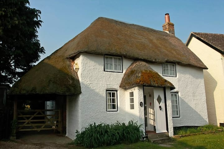 Delightful thatched holiday cottage - Bere Regis