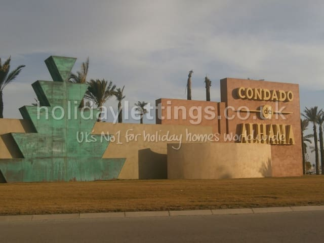 Golf Resort in Condado De Alhama - Alhama de Murcia - Apartamento