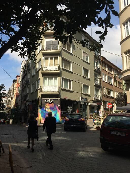Cihangir neighbourhood.