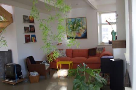 Fijn huis met grote tuin - Westeremden - Casa