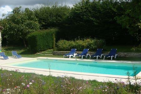 L'Orangerie, gite avec piscine - Moncoutant