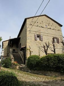 CASA IN SASSO DEL '400 IN BORGO - Casa Nadino - Apartmen