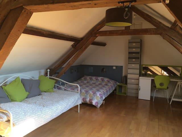 Chambre a 5min a pied de la gare - Amiens - Huis