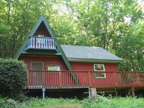 Charming Catskills Home, Pond, Stream, 10 Acres