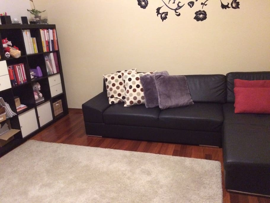 bequemes sofa bett in zh altstetten nah zentrum wohnungen zur miete in z rich z rich schweiz. Black Bedroom Furniture Sets. Home Design Ideas