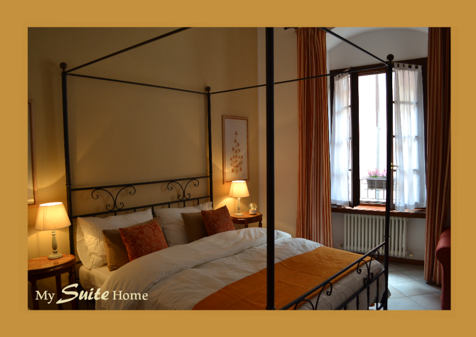 My Suite Home - Riva del Garda - Canopy Double Bed
