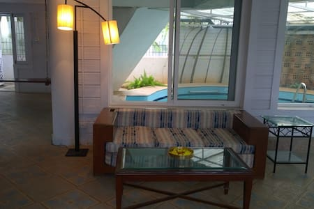 Quiet sunny house with private pool - 班加羅爾(Bengaluru)