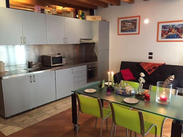 Bilocale su due livelli - Brescia - Appartement