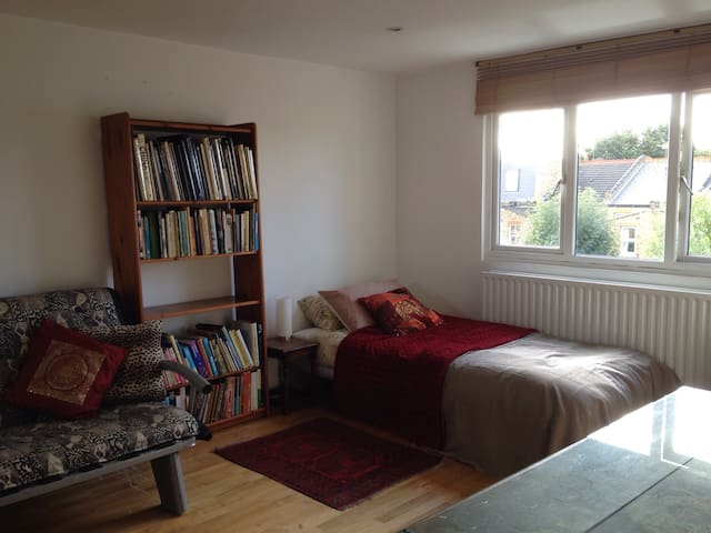 Large room with en suite Twickenham - Isleworth - บ้าน