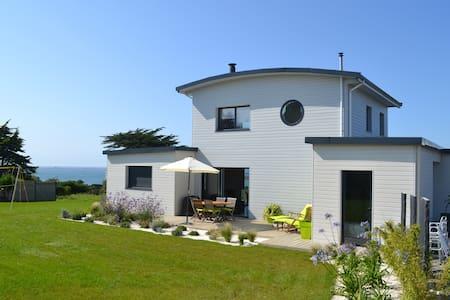 Maison en bois au bord de mer - Landéda - Dom