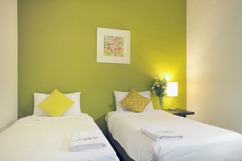 Captain Room (2 single beds for 2 pax)