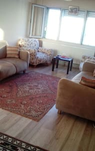Modern bir daireden samimi bir oda - konak konak