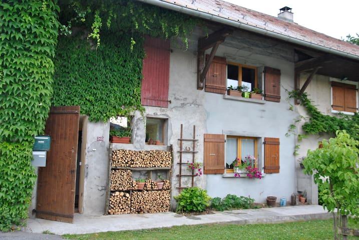 Gîte à la campagne avec jardin - Menthonnex-en-Bornes