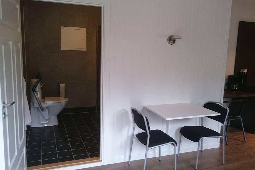 Dining Area Private Bath
