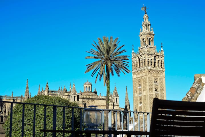 APARTMENT WITH CATHEDRAL VIEWS. - Seville - Apartmen