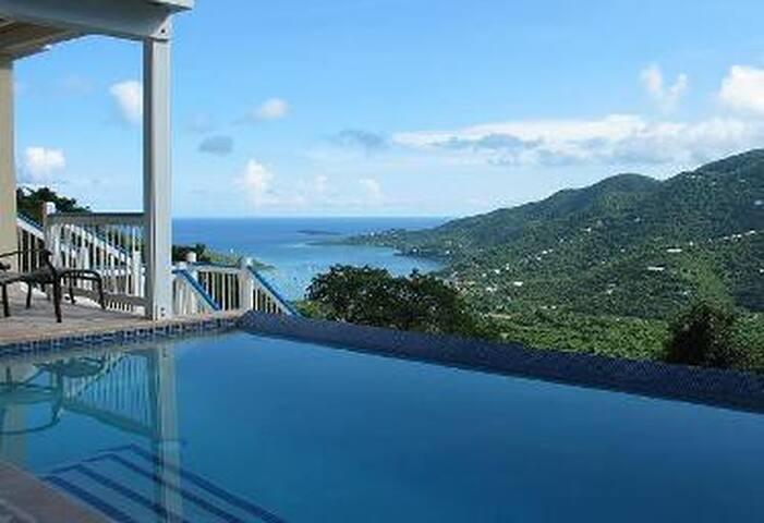 Blue Palm Villa - St. John, VI. - Coral Bay - Villa
