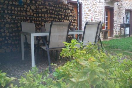 Casa para 2 personas con jardín. - Pomar de Valdivia - Hus