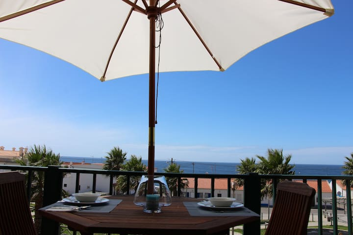 T1 amazing with pool100m beach.Dream Beach 31459AL - Ericeira