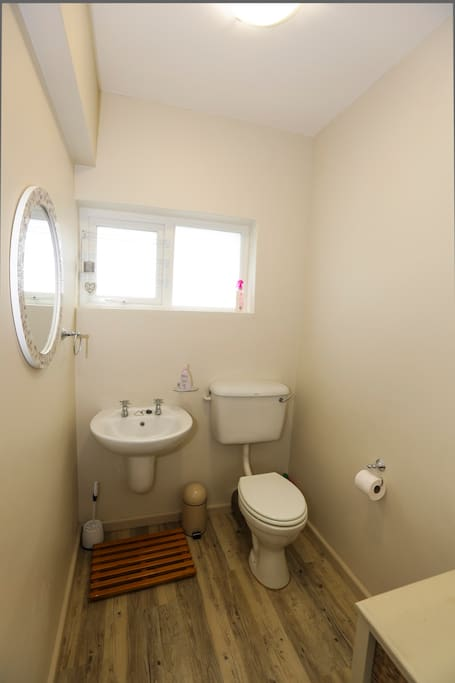 Basin and toilet - main bedroom