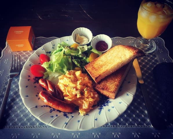 RachelCafe B&B Freshly Breakfast!! Room A 2people - 中頭郡 - Pousada