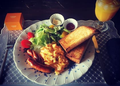 RachelCafe B&B Freshly Breakfast!! Room A 2people - 中頭郡 - Bed & Breakfast