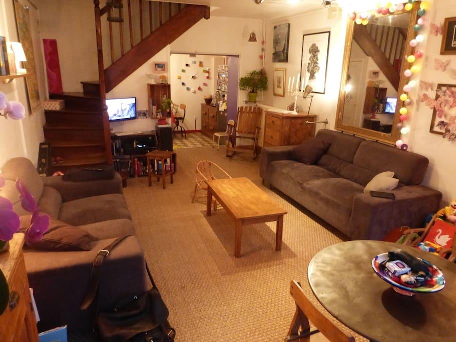 maison de ville cosy 105m2 maisons louer caen basse. Black Bedroom Furniture Sets. Home Design Ideas