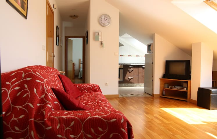 Bright & spacious beach apartment - Rianxo - Appartement