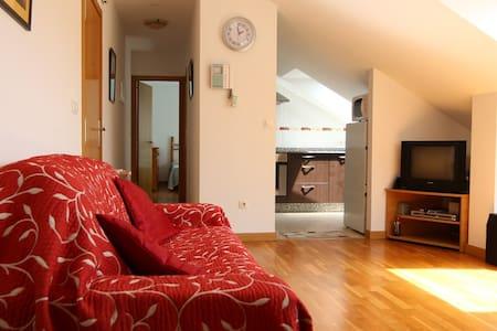 Bright & spacious beach apartment - Rianxo
