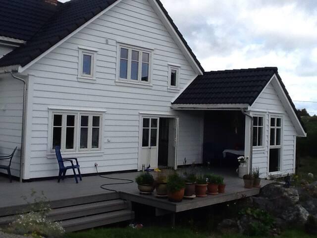 Koselig hus i naturen - Bømlo - Huis