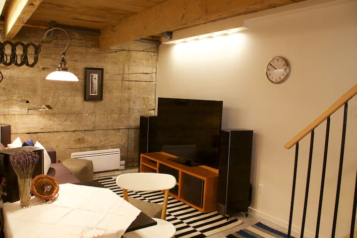 Coach Home in the Heart of Plateau - Montréal - Chalet