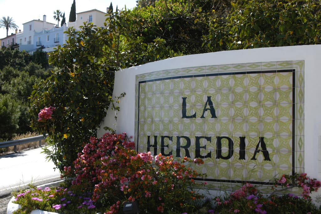 La Heredia entrance