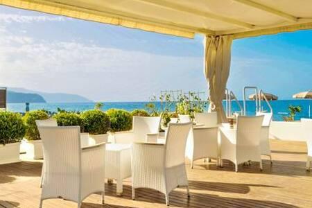 Beach-side with pool-Stromboli B - Terme Vigliatore
