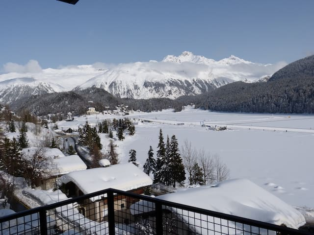 Super central with great lake views - St. Moritz - Lägenhet