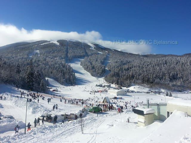 Apartment Bjelasnica Jahorina skiing EYOF