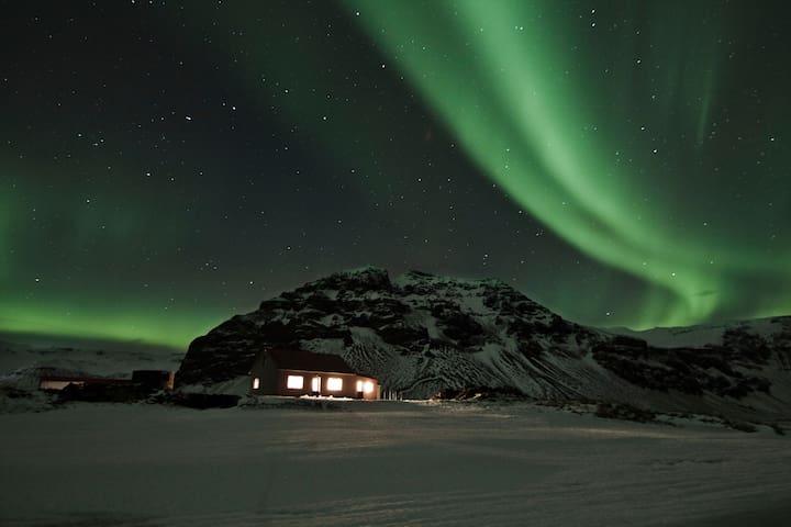 Old farmhouse by Eyjafjallajökull - Hvolsvollur - Casa