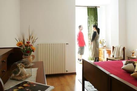 Camera tranquilla e rilassante - Albosaggia