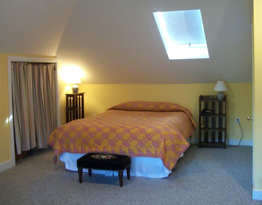 Master Bedroom on Third Floor