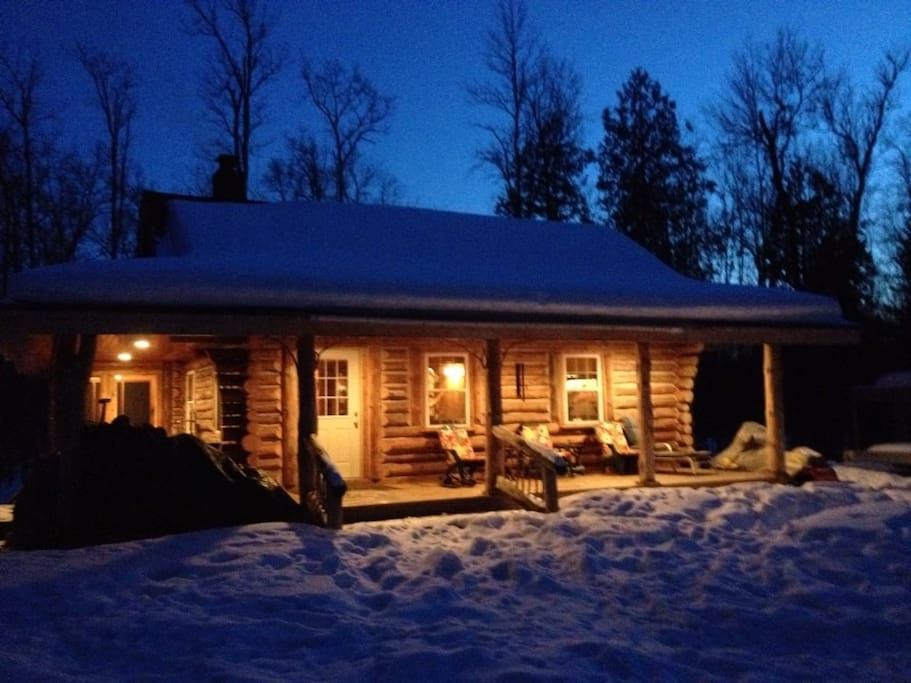 Storybook Log Cabin By Trails And Ski Resorts Cottages