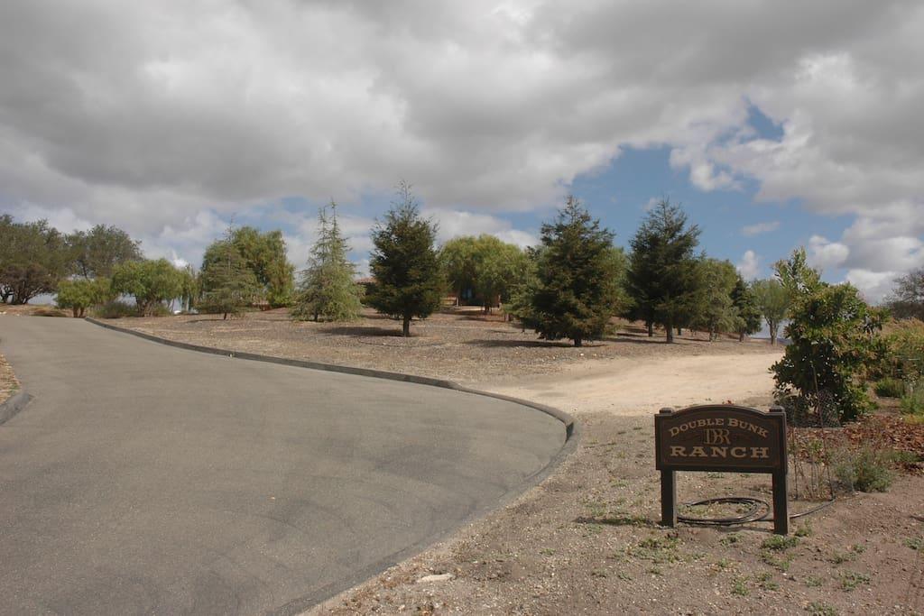 Entrance to Double Bunk Ranch