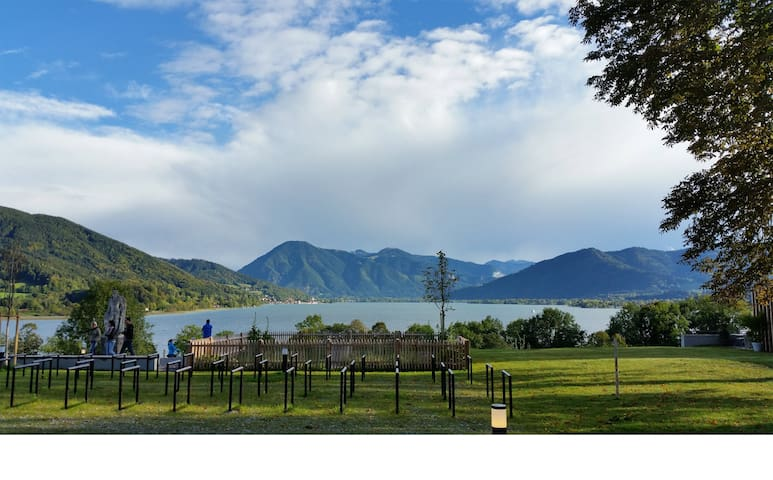 Peaceful vacation near Bavarian Lake -or long stay