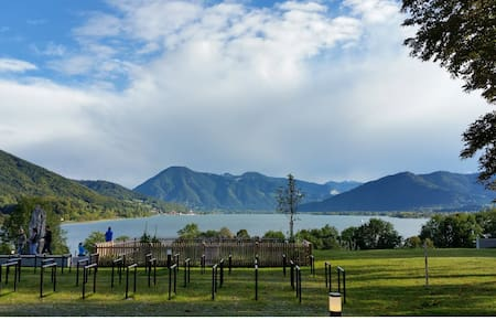Peaceful vacation near Bavarian Lake -or long stay - Maison