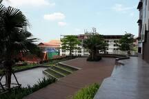 Luxury high-rise condo 2 br 2 baths across BITEC