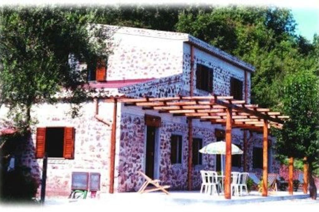 La tua Camera con terrazzo privato con vista sulle Isole Eolie