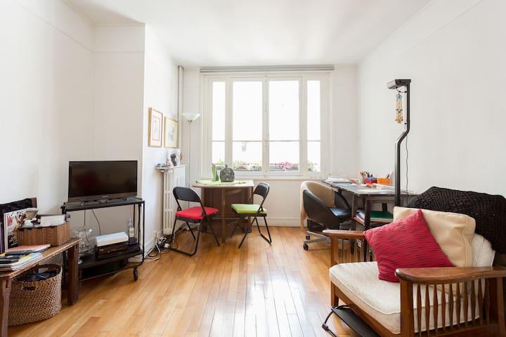 Montparnasse studio / imm art deco - Paris - Apartamento