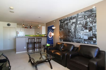 Heart of Downtown Vancouver Room - Vancouver - Apartment