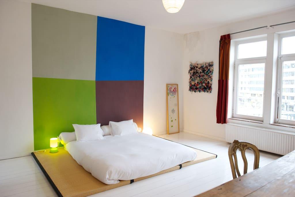 C t etangs chambres d 39 h tes louer ixelles for Chambre d hote belgique