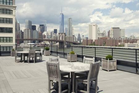 Gorgeous Manhattan skyline views! - ブルックリン